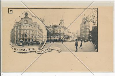 NY Post Office & City Hall, NYC