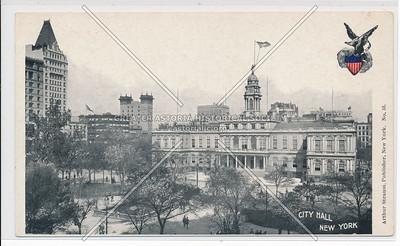 City Hall of New York City