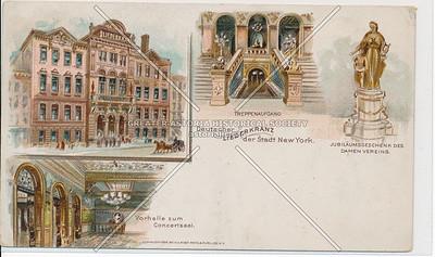 "German ""Liederkranz"" Concert Hall of New York City"