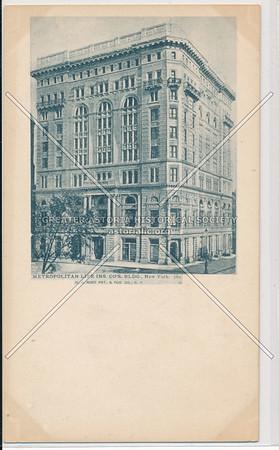 Metropolitian Life Insurance, NYC