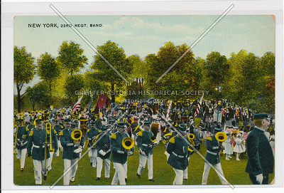 23 Regt. Band in Central Park