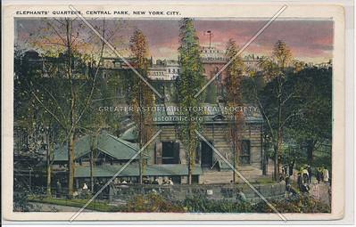 Elephant's quarters, Central Park