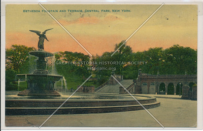 Bethesda Fountain & Terrace, Central Park