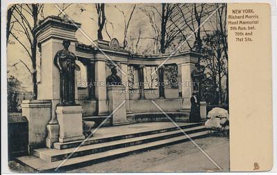 Richard Morris Hunt Memorial on 5th Ave, Central Park