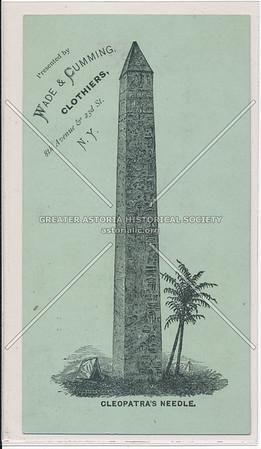 The Obelisk in Central Park (Cleopatra's Needle)