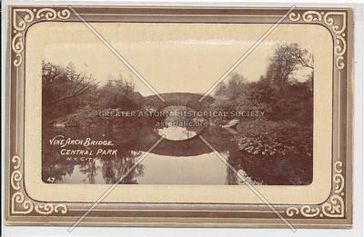 Vine Arch Bridge Central Park