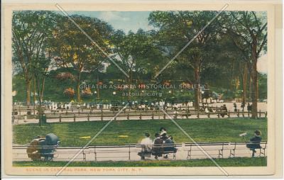 Scene in Central Park, NYC