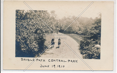 Bridle Path, Central Park  (1910)