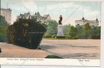 Daniel Webster Statue Central Park