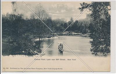 Lake near 59 St, Central Park, NYC