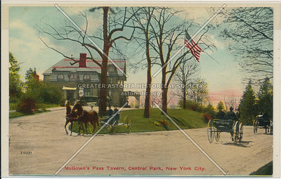 McGown's Pass Tavern, Central Park
