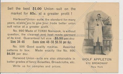 Wold Appleton, 610 Bway, NYC