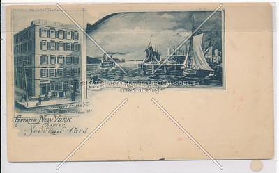 Greater New York Charter Souvenir Card