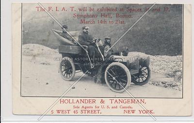 FIAT, Holladner & Tangeman, 5 W 45 St, NYC
