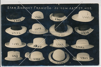 Star Bonnet Co, 38 W 32 St, NYC