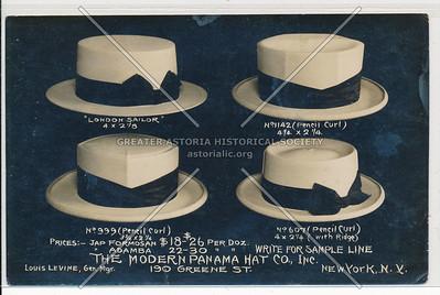 Modern Panama Hat, 190 Grenene St, NYC