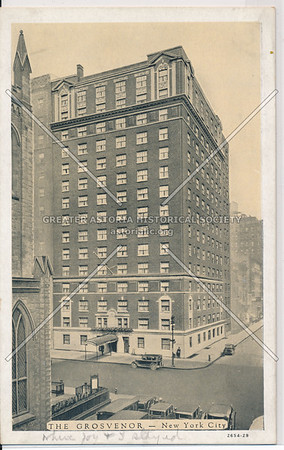 The Grosvenor, 5 Av & 10 St, NYC