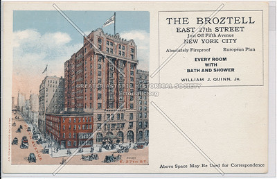 The Broztell, E 27 St off 5th Ave, NYC