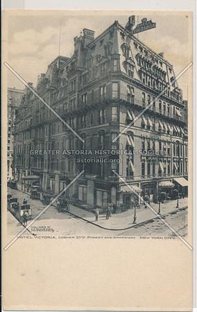 Hotel Victoria, Corner 27th St & B'way, NYC