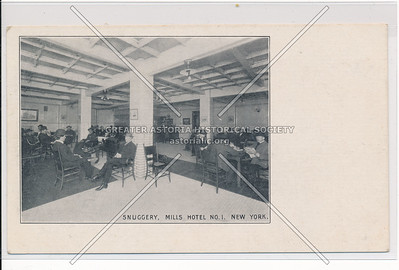Snuggery, Mills Hotel #1 - Bleecker, Sullivan & Thompson, NYC