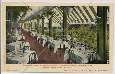 Park Avenue Hotel, 32nd and 33rd Sts., New York