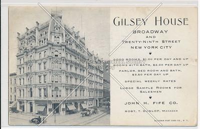 Gilsey House-Broadway and Twenty-Ninth Street New York City