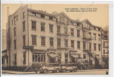 Hotel Lafayette, Unversity Pl & 9 St, NYC (formerly Hotel Martin)