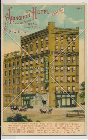 Abingdon Hotel, 9 Abingdon Sq, NYC
