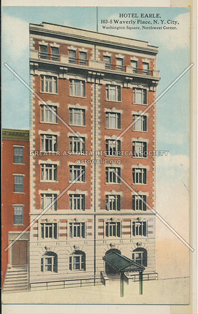 Hotel Earle, 103 Waverly Pl, NYC