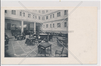 West Court, Mills Hotel #1 - Bleecker, Sullivan & Thompson, NYC