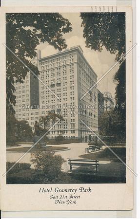 Hotel Gramercy Park, E 21 St, NYC
