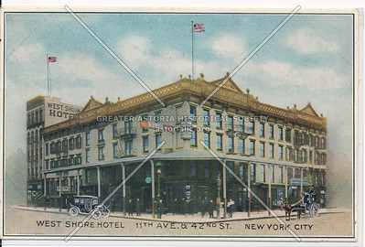 West Shore Hotel, 11th Ave. & 42nd St., New York City
