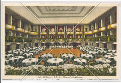 The Waldorf-Astoria Hotel, New York City
