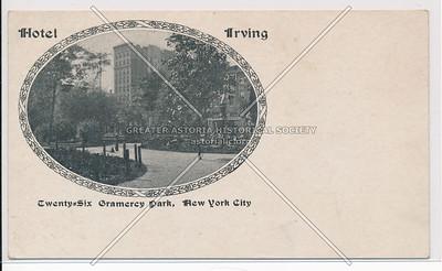 Hotel Irving, 26 Gramercy Park, NYC