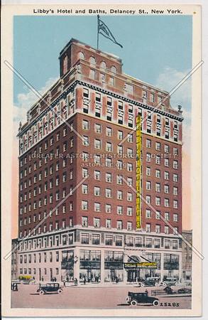 Libby's Hotel & Baths, Delancey St, NYC