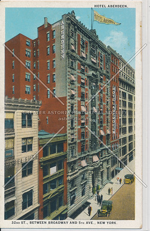 Hotel Aberdeen, 32nd St., btw. B'way and 5th Ave, New York