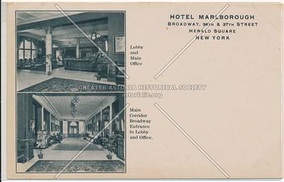 Hotel Marlborough, B'way & 36th St, Herald Square, New York