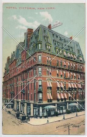 Hotel Victoria, NYC