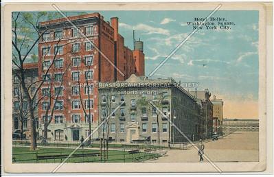 Hotel Holley, 36 Washington Sq W, NYC
