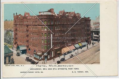Hotel Marlborough, B'way, 36th and 37th Sts., New York