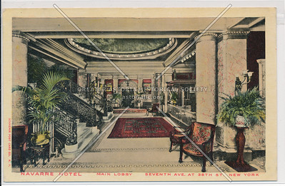 Navarre Hotel, 7th Ave. at 38th St, New York