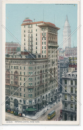 Imperial Hotel, New York
