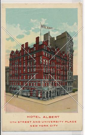 Hotel Albert, 11 St & University Pl, NYC