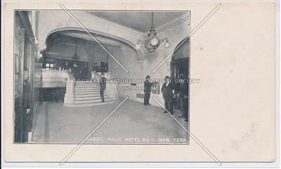 Lobby Mills Hotel #1 - Bleecker, Sullivan & Thomson, NYC