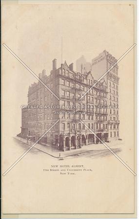 New Hotel Albert, 11 St & University Pl, NYC