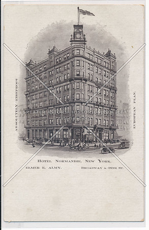 Hotel Normandie, B'way & 38th St., New York