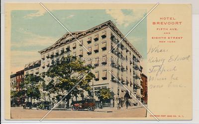Hotel Brevoort, 5 Av & 8 St, NYC