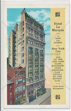 Hotel Le Marquis 12 East 31st Street, New York City