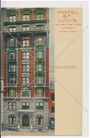 Hotel St. Louis 34-36 East 32nd Street, New York