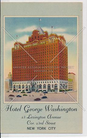 Hotel George Washington, 23 Lexington Ave, NYC